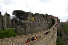 Girona, Mura carolingie