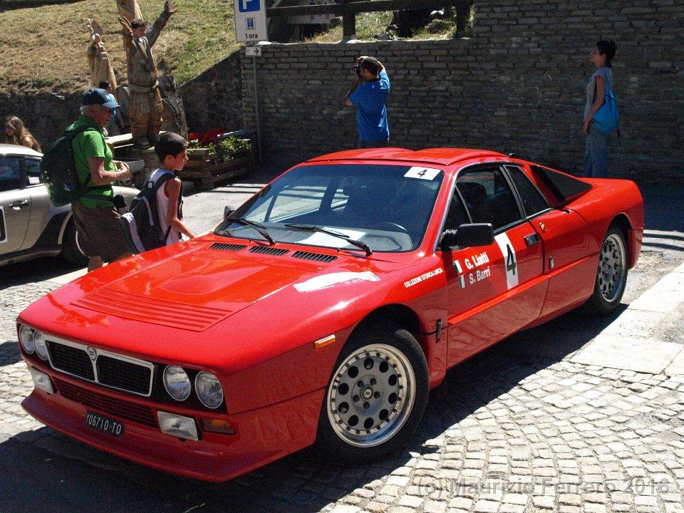 "Lancia 037 ""Rally"" versione stradale (rarissima)"