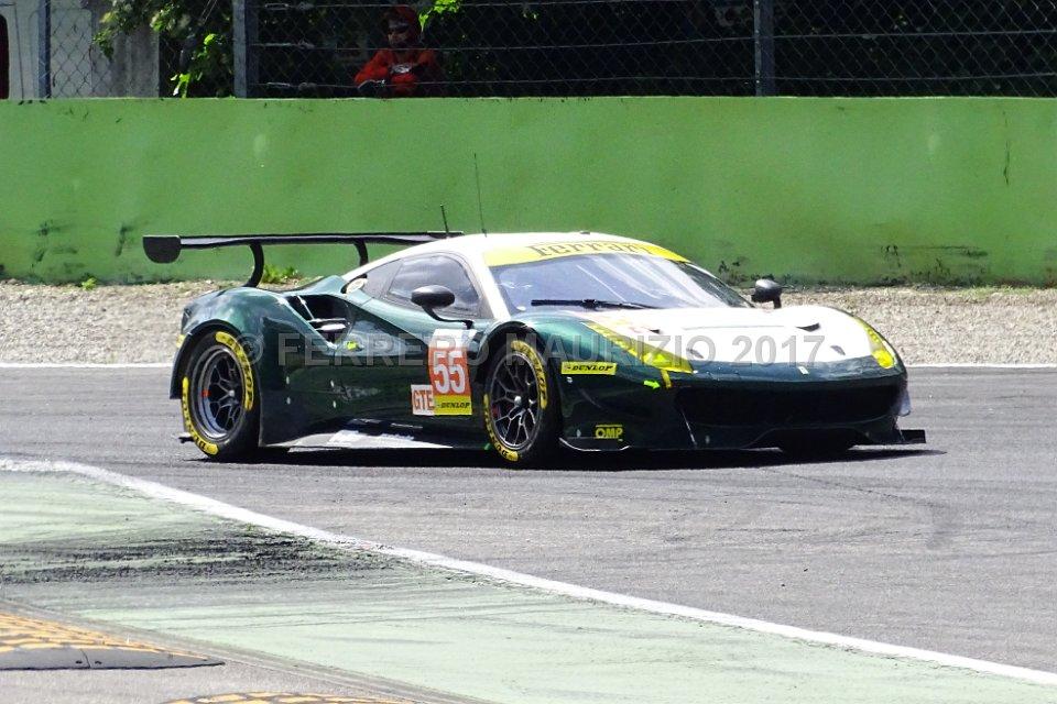 Ferrari F488 GTE - SPIRIT OF RACE - Duncan Cameron (GBR) - Matt Griffin (IRL) - Aaron Scott (GBR)