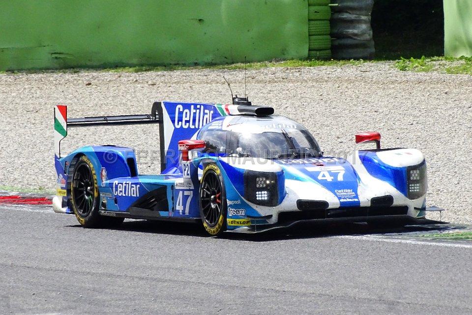 Dallara P217 - CETILAR VILLORBA CORSE - Roberto Lacorte (ITA) - Giorgio Sernagiotto (ITA) - Andrea Belicchi (ITA)