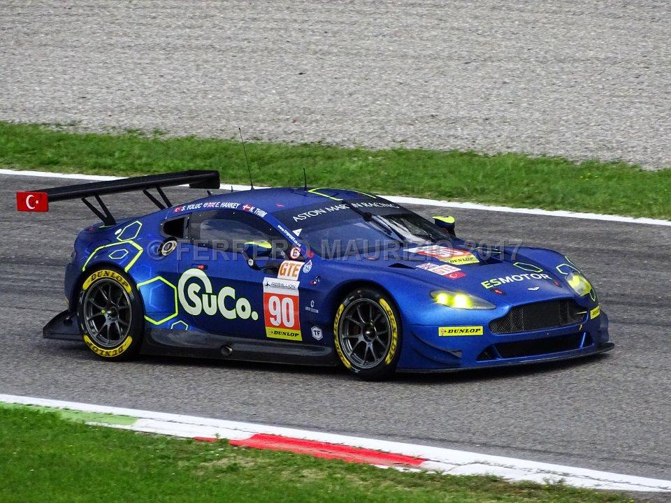 Aston Martin V8 Vantage - TF SPORT - Salih Yoluc (TUR) - Euan Hankey (GBR) - Nicki Thiim (DNK)
