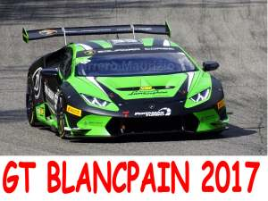 BLANCPAIN GT ENDURANCE SERIES 2017, Monza 23 Aprile