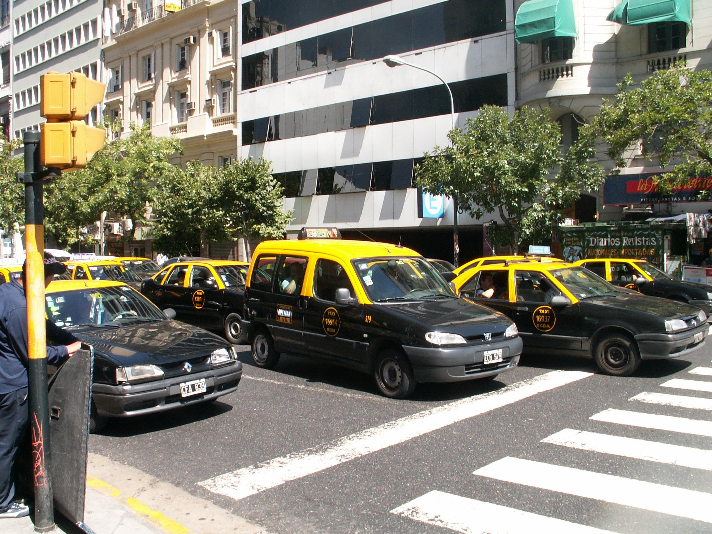 Buenos Aires la capitale del Taxi