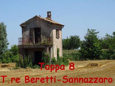 Tappa 8 Torre Berretti-Sazzazzaro de Burgondi