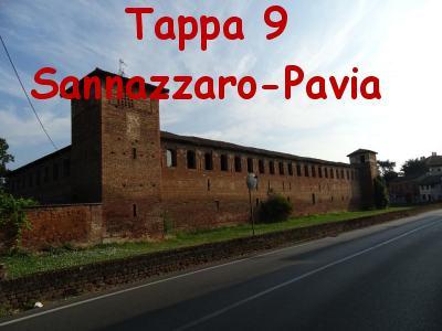 Tappa 9 Sannazzaro-Pavia